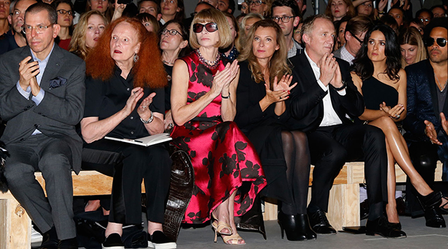 Front row seats: how to spot the style tribes of Fashion Week