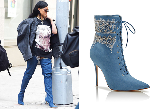 Rihanna X Manolo Blahnik lands THIS WEEK