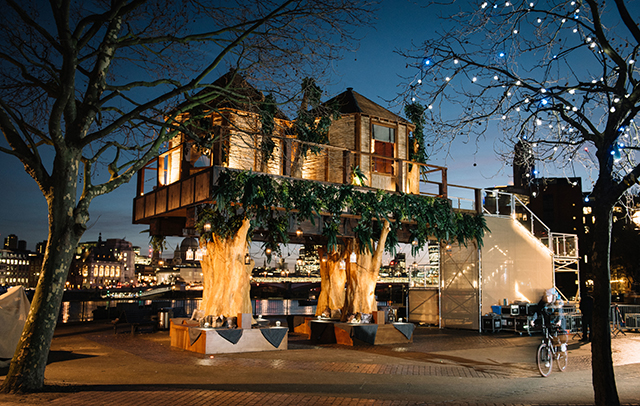 Central London now has the world's most amazing treehouse