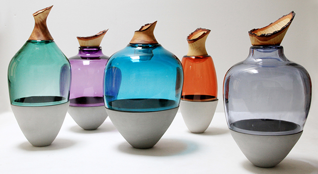Heart of glass: mesmerising vessels by Utopia & Utility
