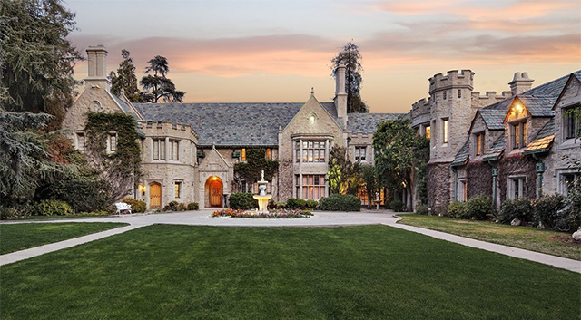 Guess who just bought the Playboy Mansion?
