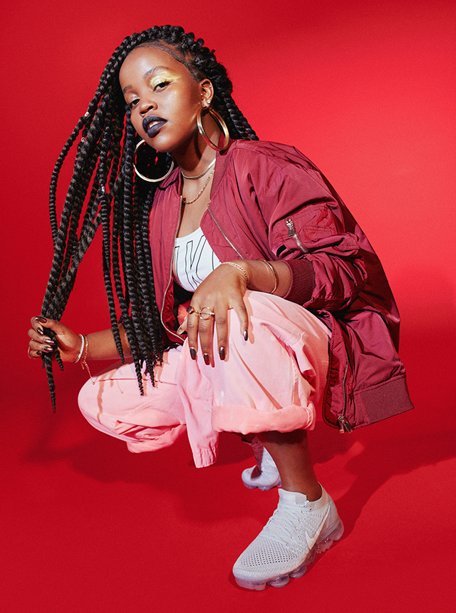 Tkay Maidza on style, sneakers and staying fit