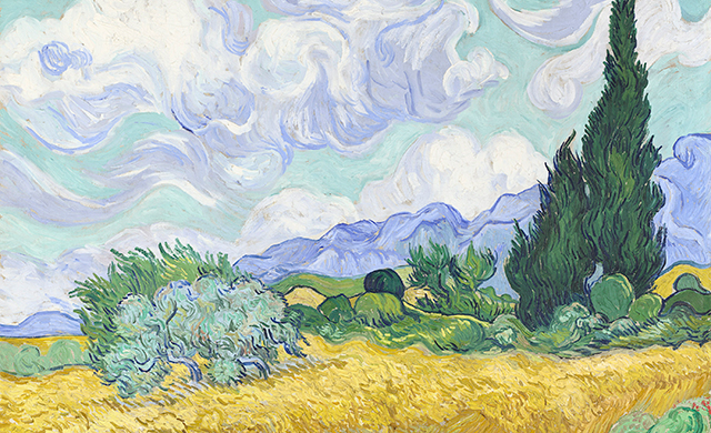 A huge van Gogh exhibition is coming to Australia
