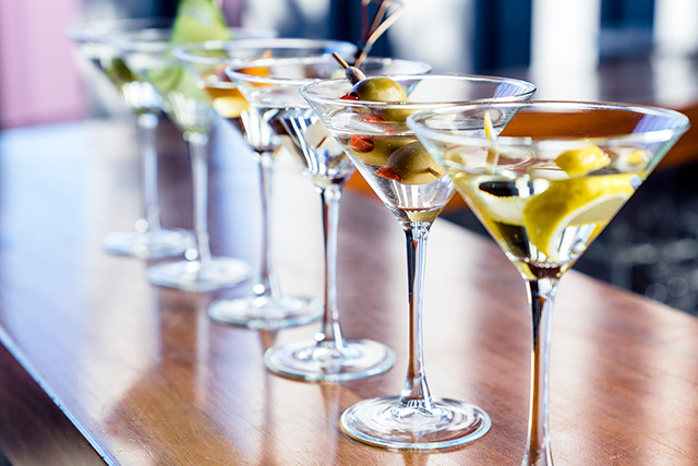 You can make your own martinis at this Sydney hotel