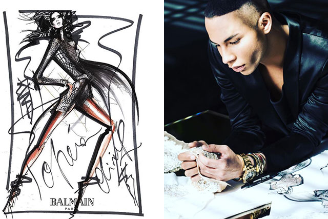 Balmain's Olivier Rousteing is about to take over Paris Opera