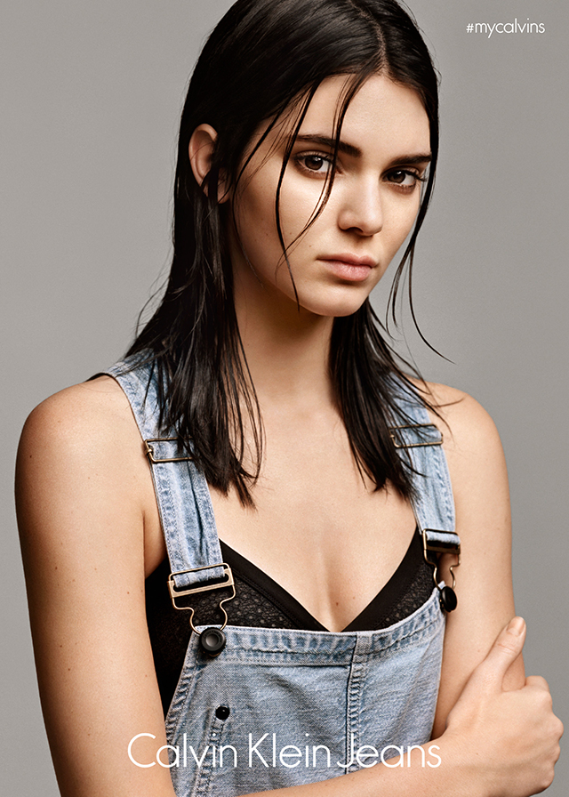 Breaking news: Kendall Jenner does her thing for Calvin Klein Jeans