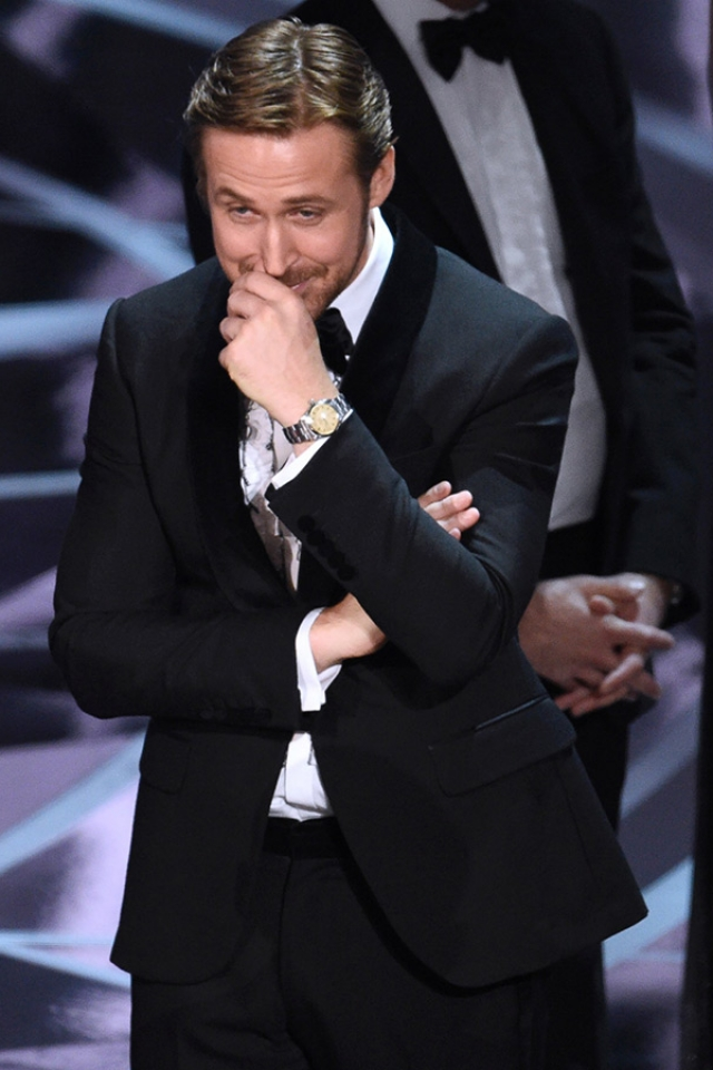 Ryan Gosling on how he really felt about that Oscar's moment