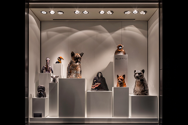 Picture this: Gwon Osang takes over Hermès Sydney's windows