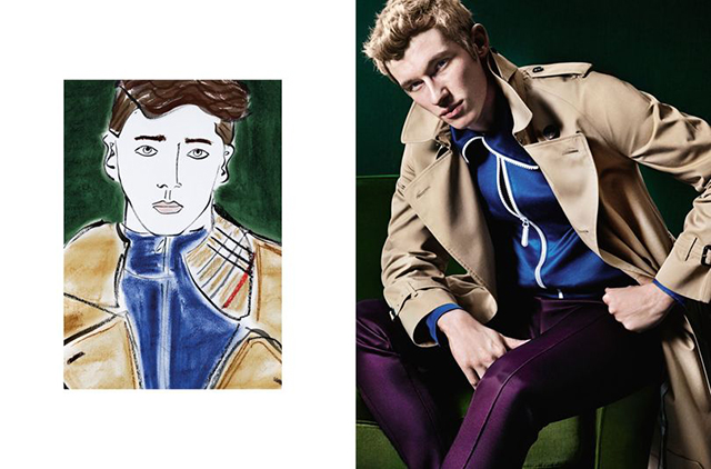 Meet the 26-year-old British artist collaborating with Burberry