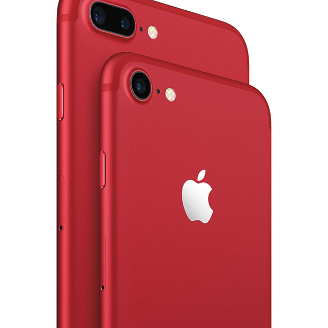 Apple launches a bright RED iPhone 7
