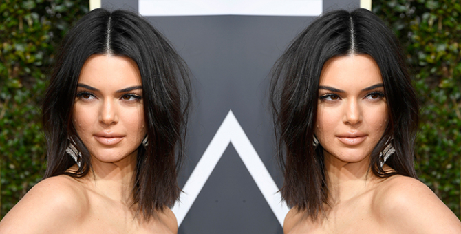 Kendall Jenner has the best advice for anyone struggling with acne