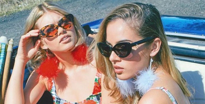 Celebs and bloggers can't get enough of this Aussie sunglasses collaboration