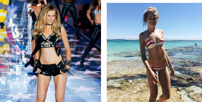 "Victoria's Secret model takes to Instagram after being told she's too ""fat"""