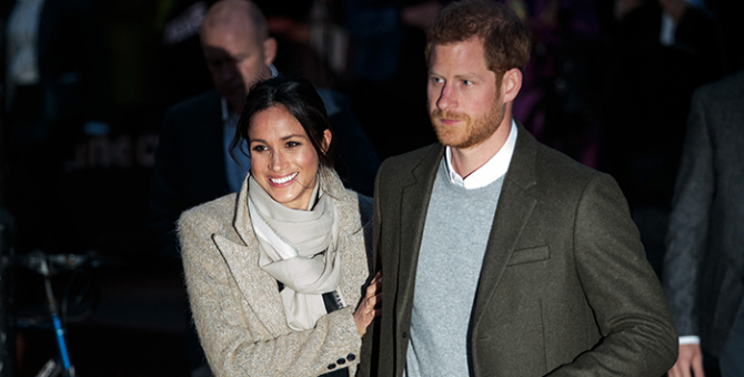 Say cheese: Prince Harry and Meghan Markle score a movie