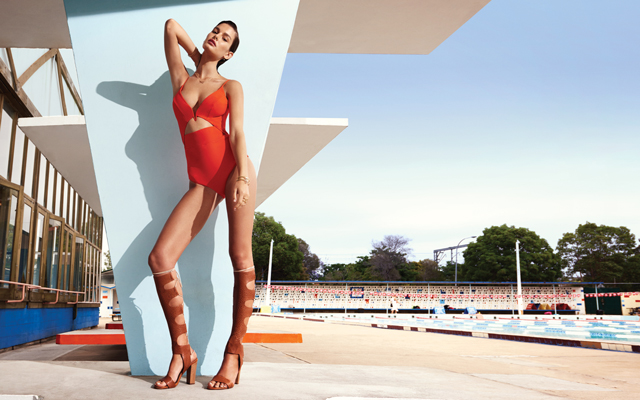 Zimmermann's latest swim campaign takes a retro turn