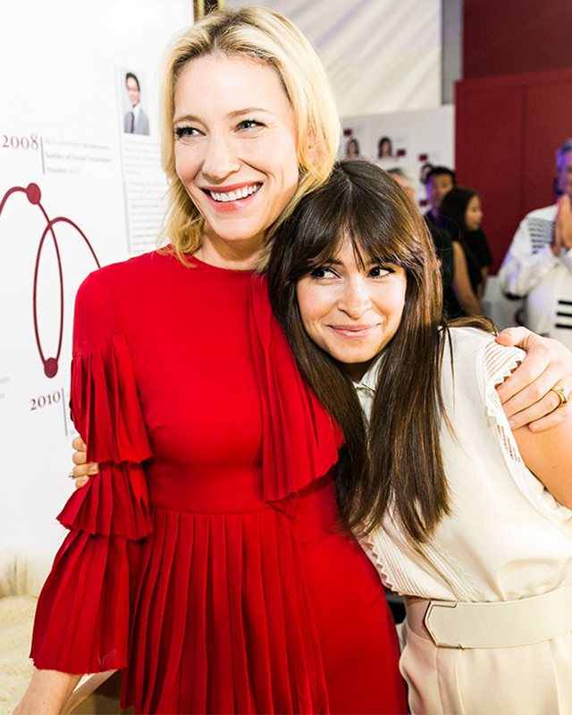 Women on top: when Miroslava Duma met Cate Blanchett