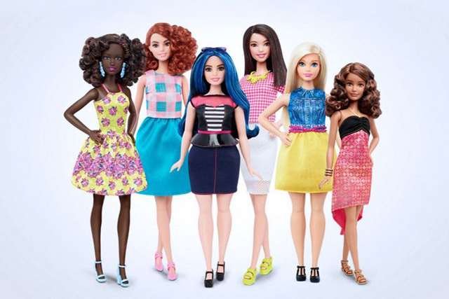 Barbie joins the 21st century with three new body types