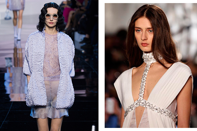 Couture trend takeaways: croissants, crustaceans and capes