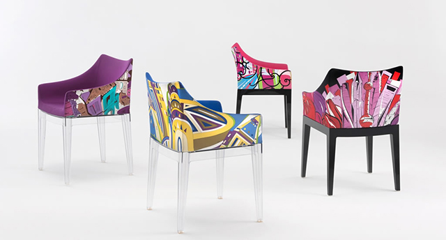 Sitting pretty: the Pucci X Philippe Starck collab