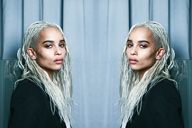 Watch this face: Zoë Kravitz just scored the best beauty gig