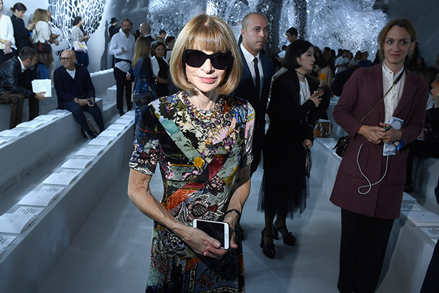 What happened when the Vatican met Anna Wintour?