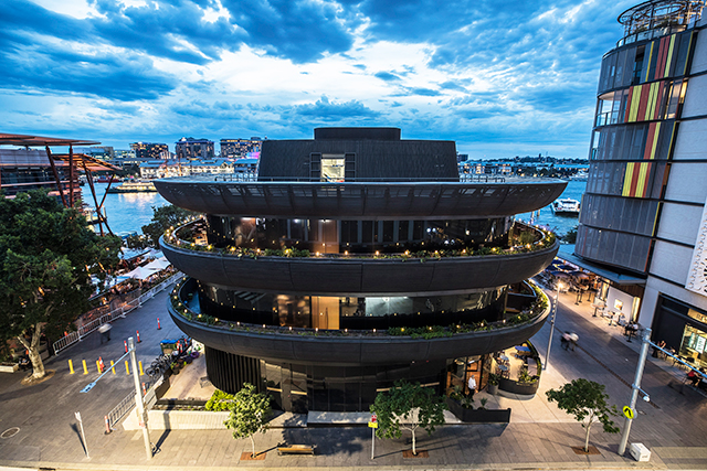 Barangaroo's epic tri-level eatery is open for summer!