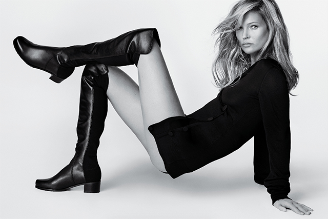 Kate Moss spills on her favourite pair of Stuart Weitzman boots