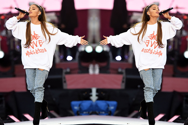 Ariana Grande's touching tribute to Manchester one year on