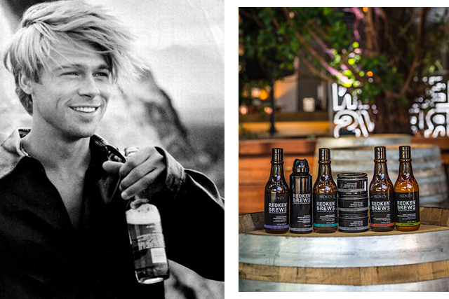 Hey gents, now you can get beer-inspired hair products