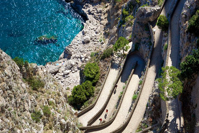 The Italian job: Irena Musilova's secret Capri