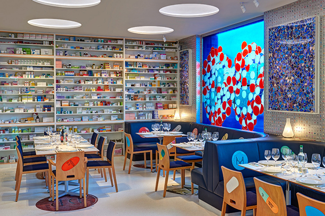 Art + food: Damien Hirst's new pill-themed restaurant is a prescription for deliciousness
