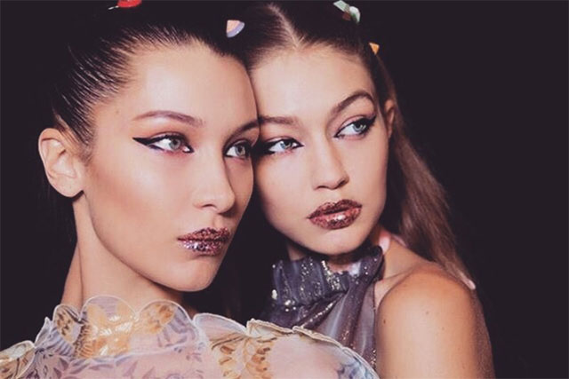 Sister act: Gigi and Bella Hadid will walk the Victoria's Secret runway