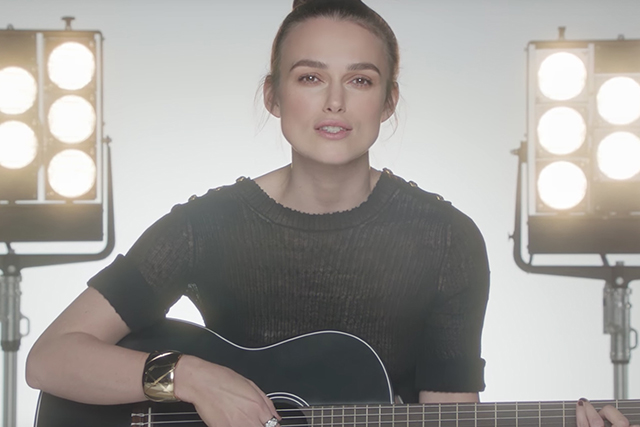 Keira Knightley sings in French for Chanel's enchanting new video