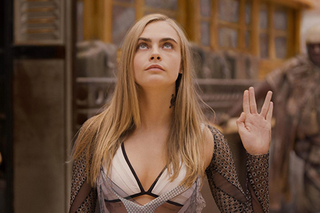 Cara Delevingne drops sultry new tune for 'Valerian'