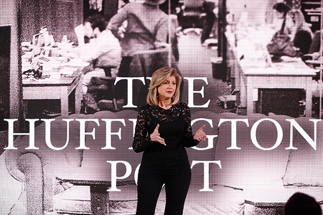 Arianna Huffington is stepping down at the Huffington Post