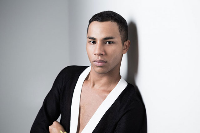 Balmain's Olivier Rousteing takes on a totally different design gig