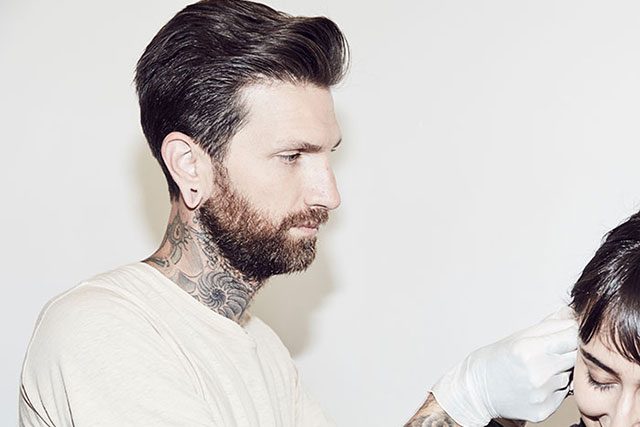 Meet the piercer behind the style set's twinkling lobes