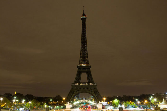 Why the Eiffel Tower has turned off its lights