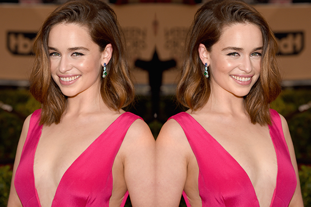 Emilia Clarke proves why she's the queen of full-frontal nudity