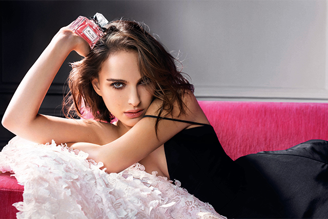 Natalie Portman fronts the new Miss Dior fragrance campaign