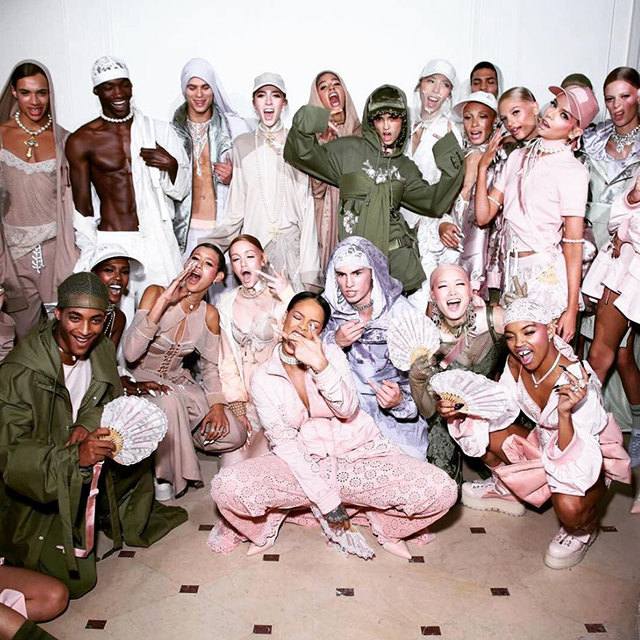 Why Rihanna's Fenty x Puma show is Yeezy all over again