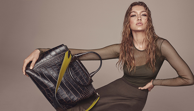 And that's another major campaign coup for Gigi Hadid