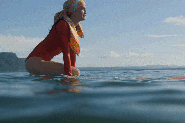 WATCH: Hermès go surfing in scarves