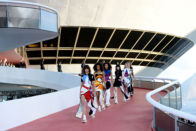 Louis Vuitton announces Cruise 2018 location