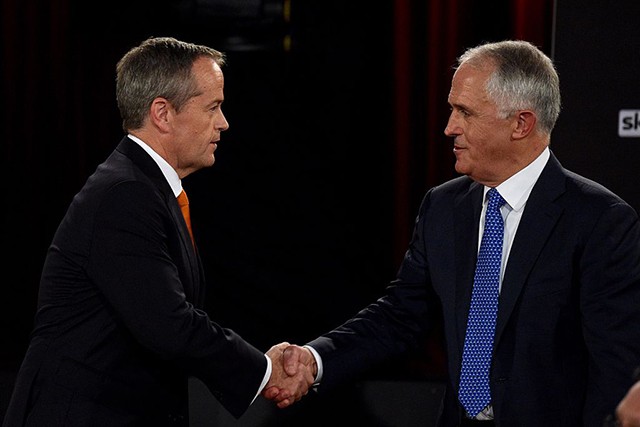 Watch the Turnbull vs Shorten debate LIVE on Facebook tonight