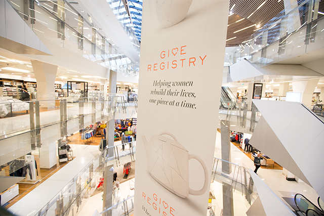 Myer launches The Give Registry to help victims of domestic violence