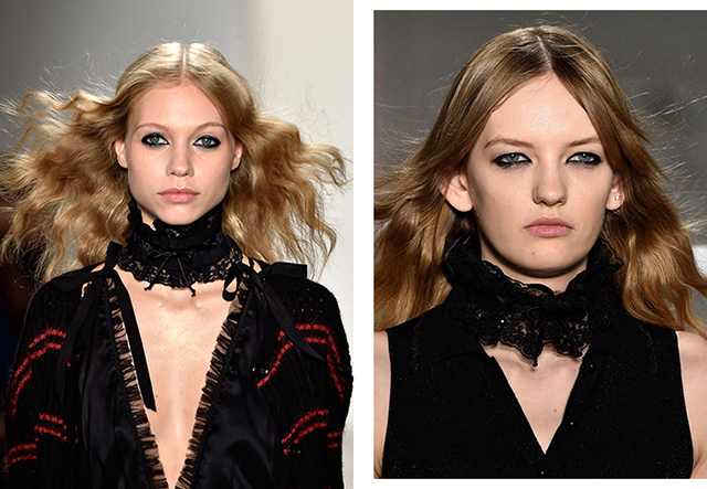 How to nail the graphic eyeliner look seen at Fashion Week