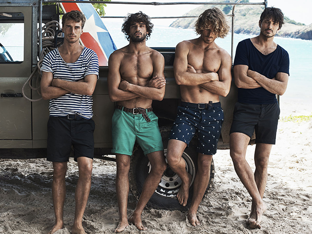 The ultimate guide to men's surf style (minus the speedos)