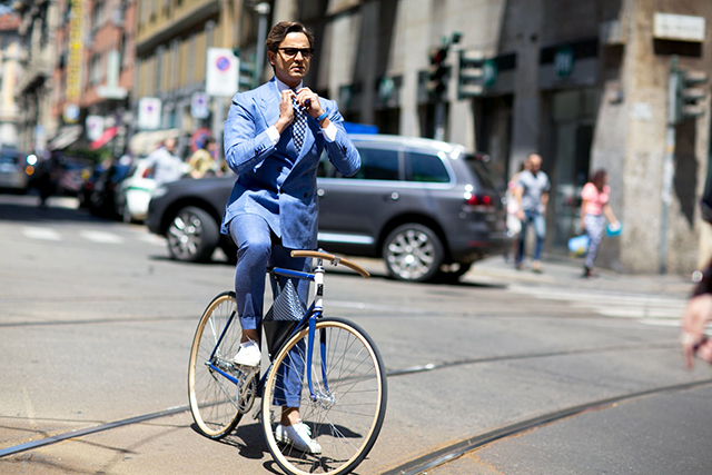On your bike: yes, it's possible to do cycling in style