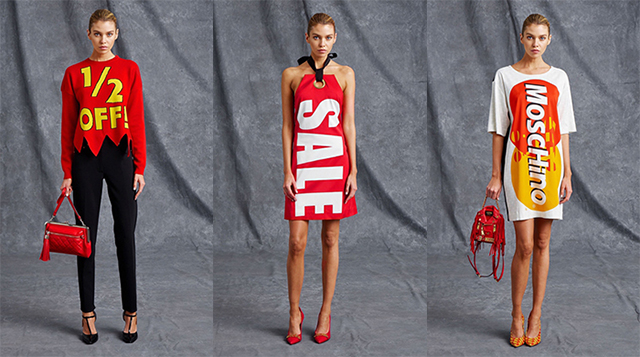 Moschino does sale chic – but what does it mean?